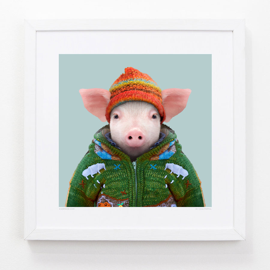 Yago Partal Connor, the Domestic Pig - Evermade