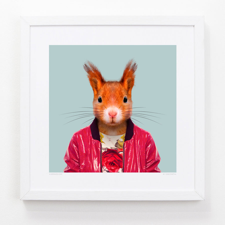 Yago Partal Saija, the Red Squirrel - Evermade