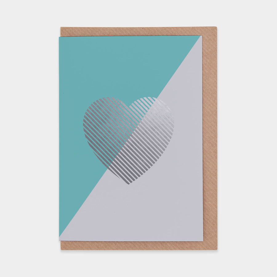 Evermade Studio Teal Heart - Evermade