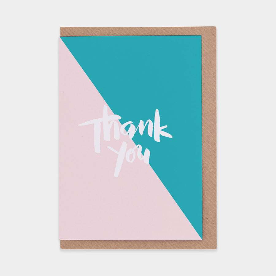 Thank You (Nude / Turquoise) - Evermade