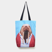 Walrus - Zoo Portrait Tote Bag - Evermade
