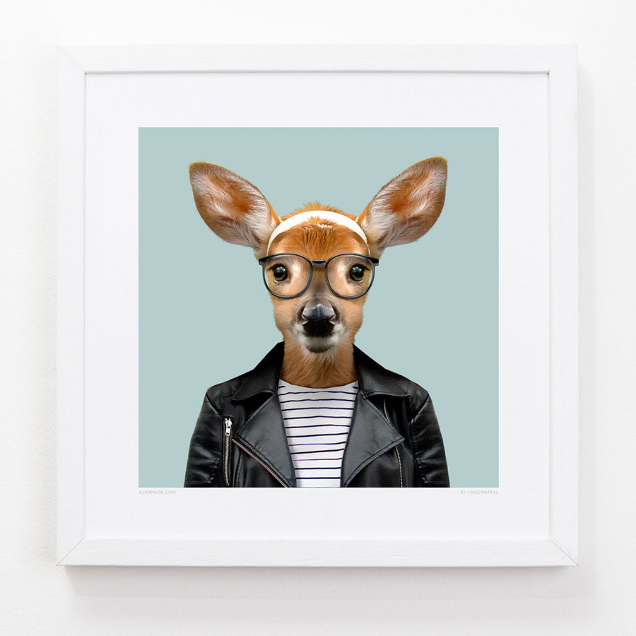 Yago Partal Laurie, the White Tailed Deer - Evermade