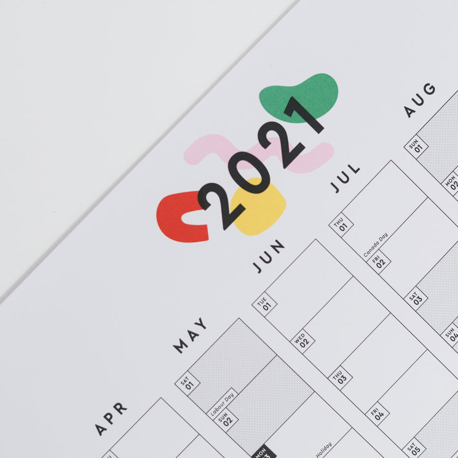 2021 Year Planner - Evermade