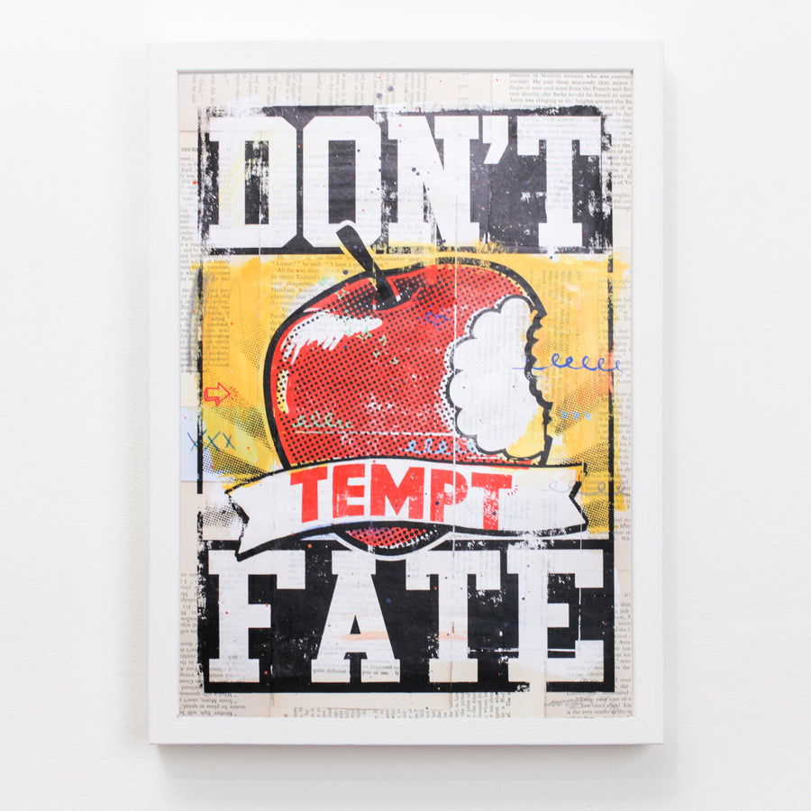 Sam Bevington Don't Tempt Fate - Evermade