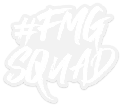 #FMGSquad Sticker