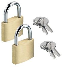 Padlock Brass x 1 for lockable collar on 946ml Dispenser