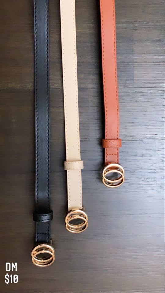 Tri color belts