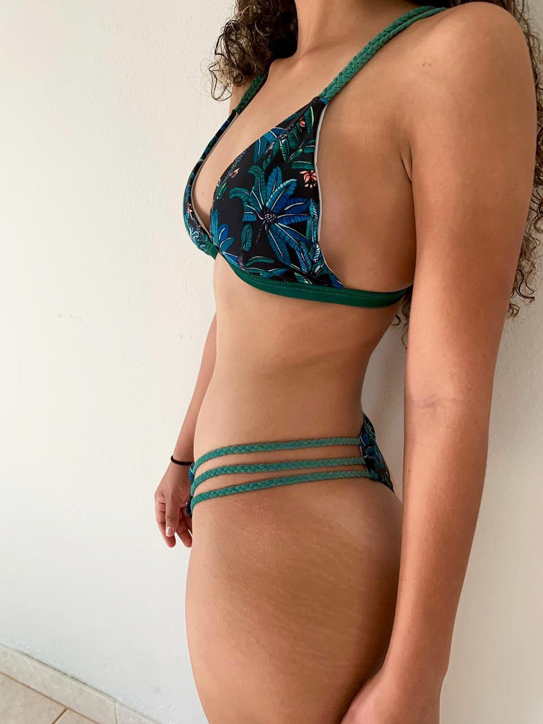 Braided Palms Bikini