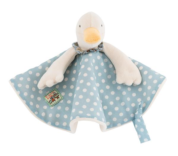 Personalised Jeanne the Goose Doudou - LOVINGLY SIGNED INDONESIA