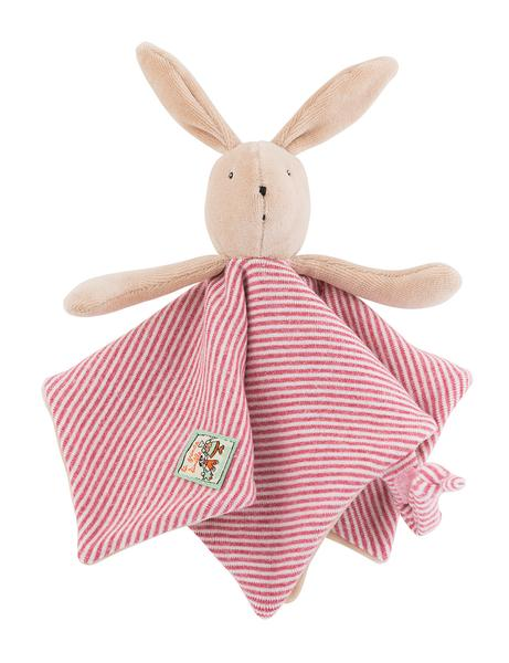 Personalised Sylvain Rabbit Doudou - LOVINGLY SIGNED INDONESIA