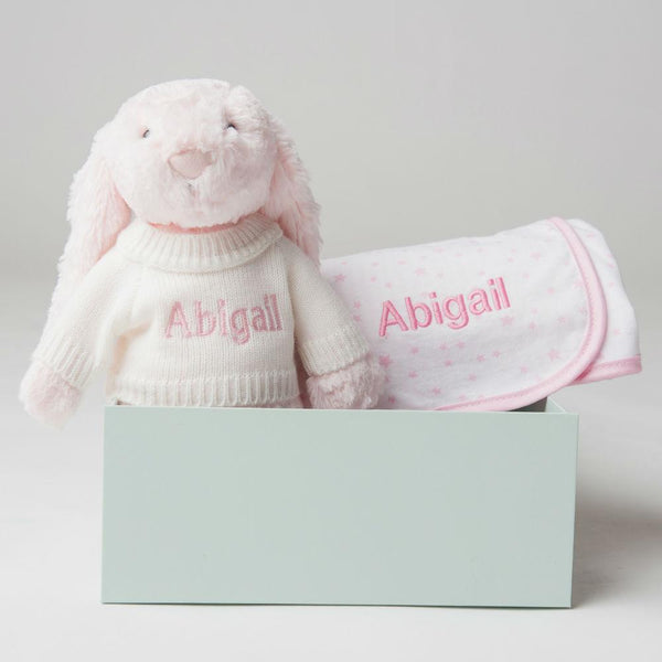Personalised Bed Time Gift Set - Pink - LOVINGLY SIGNED INDONESIA