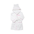 Personalised Luxury Pink Gingham Towelling Robe - LOVINGLY SIGNED INDONESIA