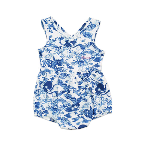 Personalised Short Romper - Kaiyo Print