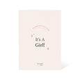 It's a Girl! Newborn Baby Congratulations Card - LOVINGLY SIGNED INDONESIA