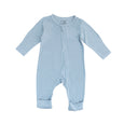 Bamboo Long Sleeve Bodysuit - Blue