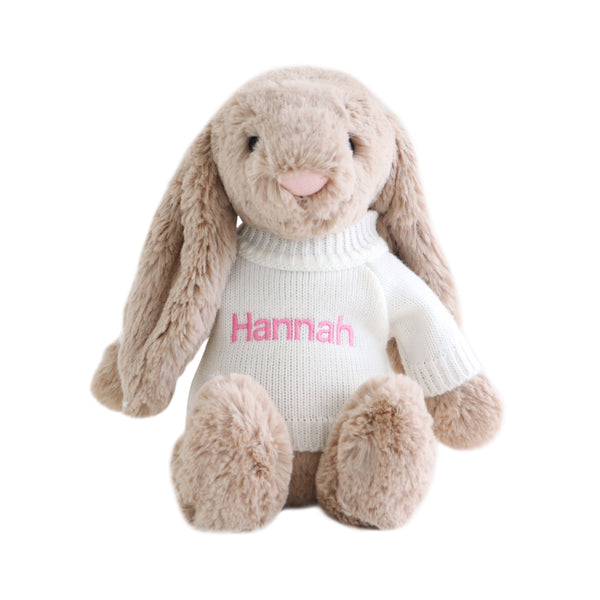 Personalised Jellycat Bunny - Beige