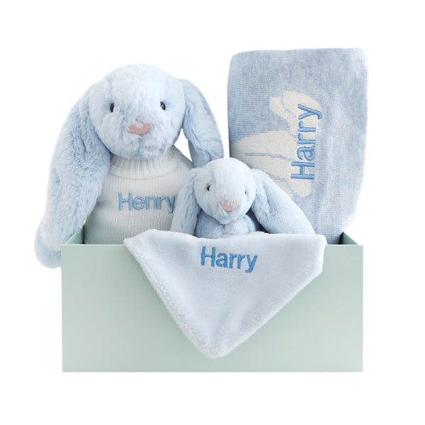 Bashful Bunny Bundle - Blue