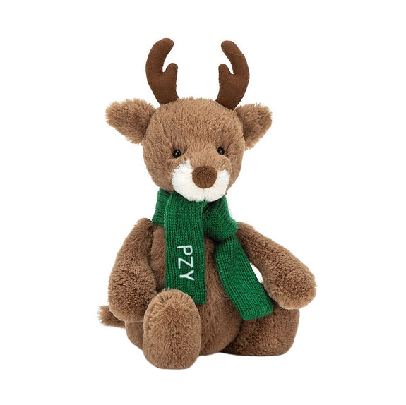 Bashful Pine Reindeer - LOVINGLY SIGNED INDONESIA