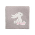 Personalised Bashful Beige Bunny Blanket - LOVINGLY SIGNED INDONESIA