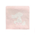 Personalised Bashful Pink Bunny Blanket - LOVINGLY SIGNED INDONESIA