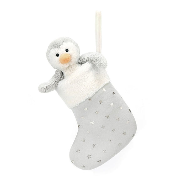 Bashful Penguin Stocking - LOVINGLY SIGNED INDONESIA
