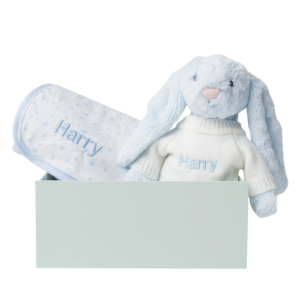 Personalised Bed Time Gift Set - Blue - LOVINGLY SIGNED INDONESIA