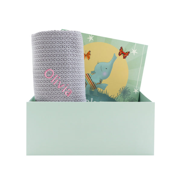 Bedtime Stories Gift Set - Grey