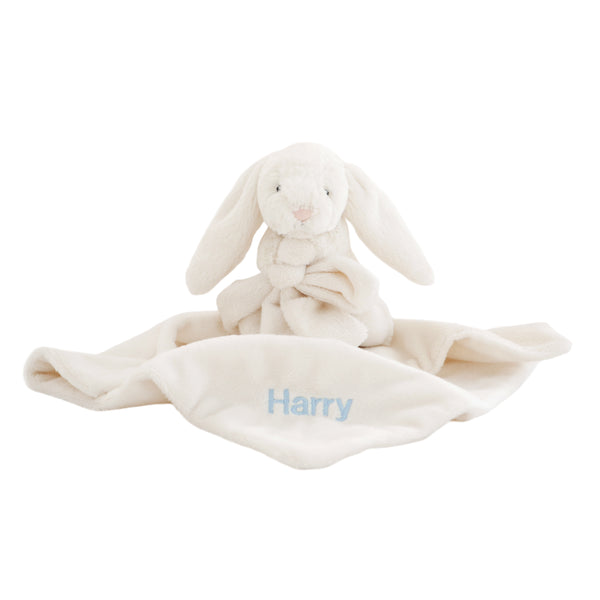Personalised Bunny Comforter - Cream