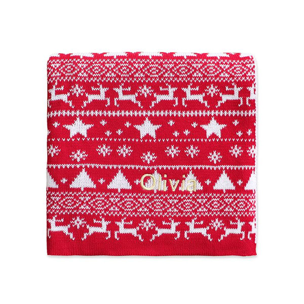 Personalised Christmas Blanket - LOVINGLY SIGNED INDONESIA