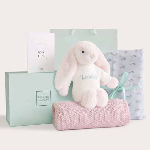 Gender Reveal Gift Set - Girl