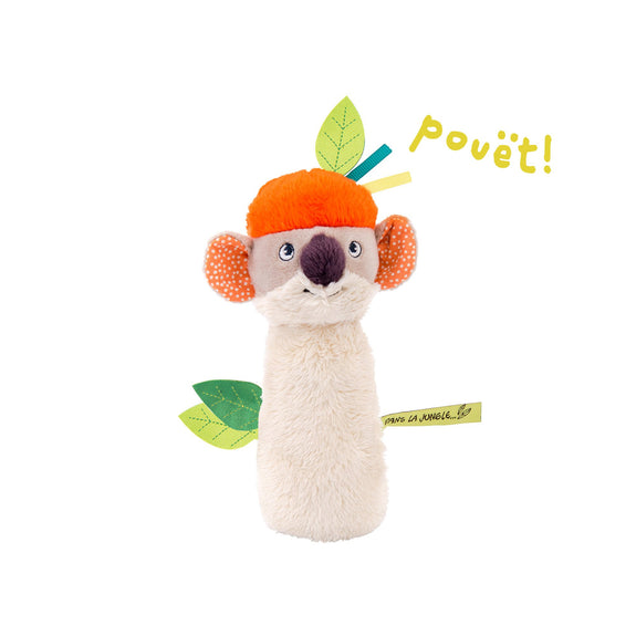 Dans La Jungle Koco Squeaker Rattle
