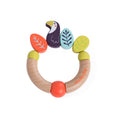 Dans La Jungle Toucan Wooden Rattle