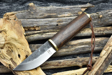 Outdoor Handmade Fixed Blade Bushcraft Knife High Carbon Steel Knife - TBP 202