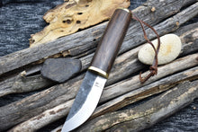 Outdoor Handmade Fixed Blade Bushcraft Knife High Carbon Steel Knife - TBP 202 - The Blade Point