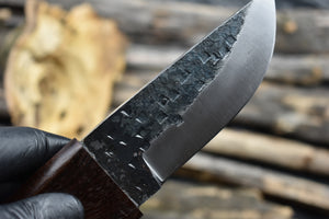 Outdoor Handmade Fixed Blade High Carbon Steel Bushcraft Hunting Knife - TBP 208 - The Blade Point