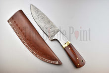puukko hand made damascus steel bushcraft fathers gifts hunting fixed outdoor gear viking medieval hand forged vintage bowie
