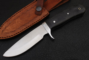 Outdoor Hunting Knife TBP 717 Mircarta Handle