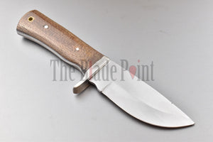 1095 High Carbon Steel Hunting Knife -  TBP- 717WW - The Blade Point