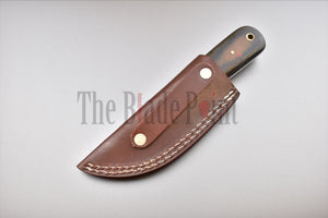 EDC Knife Handmade Fixed Blade High Carbon Steel Skinning Knife - The Blade Point