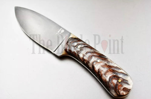 Handmade Knife Fixed Blade High Carbon Steel Bushcraft Hunting Knife