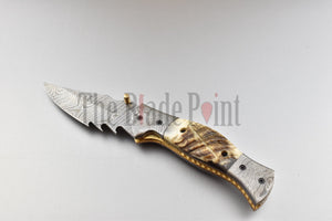 EDC Damascus Pocket Folder - TBP-751