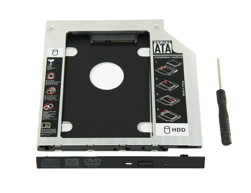 Convetidor CD / DVD ROM 9.5mm a case para disco 2.5