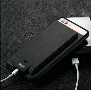 iPhone 6 7 8 Plus power bank y estuche 4,800mAh Remax