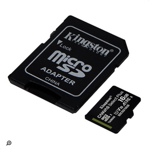 MicroSD 16Gb Kingston Canvas Select Plus, clase 10