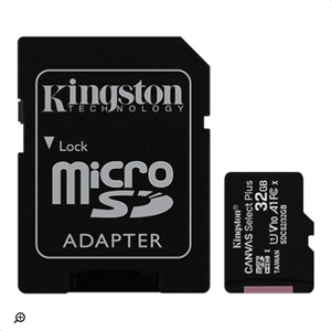 MicroSD 32Gb Kingston Canvas Select Plus clase 10