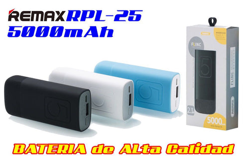 Power Bank 5000mAh Remax Flinc