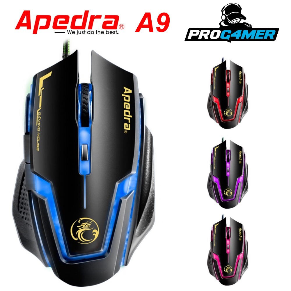 Mouse gamer APEDRA A9