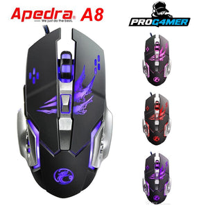 Mouse gamer APEDRA A8
