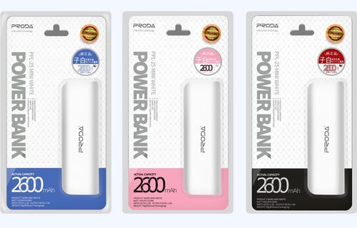 Power Bank 2600mAh Proda