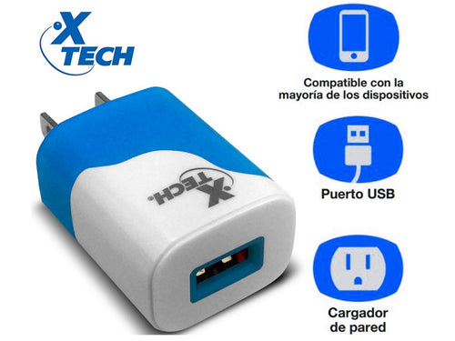 Cargador USB de pared On-the-Go (lote 10)